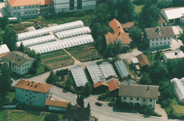Die Gärtnerei in den 1970ger Jahren